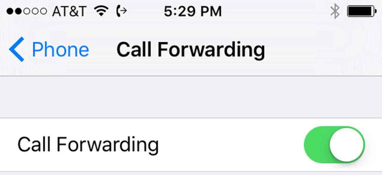 So leiten Sie Anrufe auf Ihrem iPhone weiter