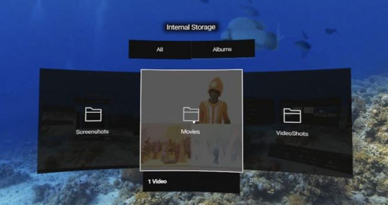 So löschen Sie heruntergeladene Dateien auf Oculus Go