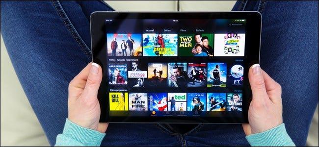 Amazon Prime Video auf dem Tablet