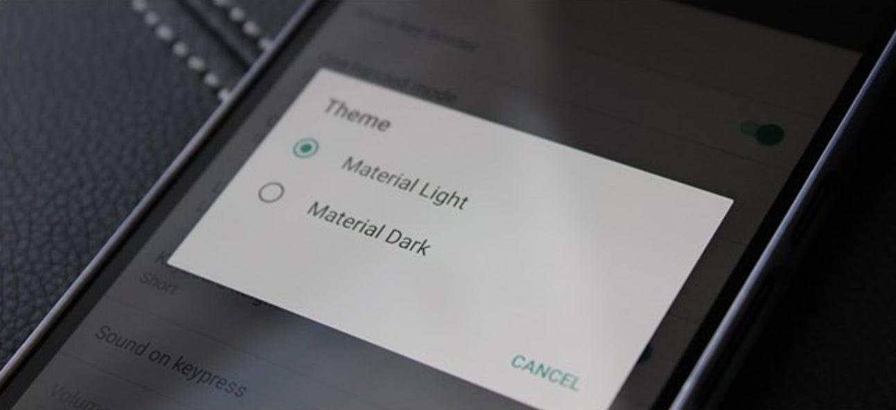 So ändern Sie das Thema der Google-Tastatur unter Android