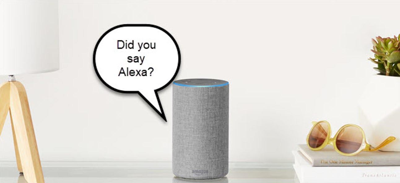 Wie Alexa auf Wake Words hört
