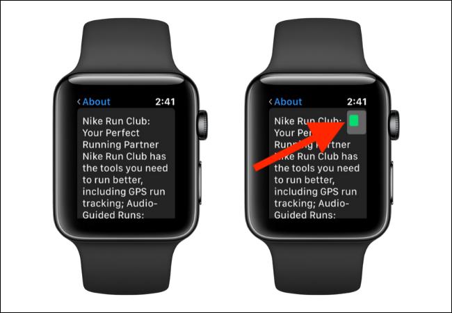 Navigieren im Zoom-Modus auf der Apple Watch