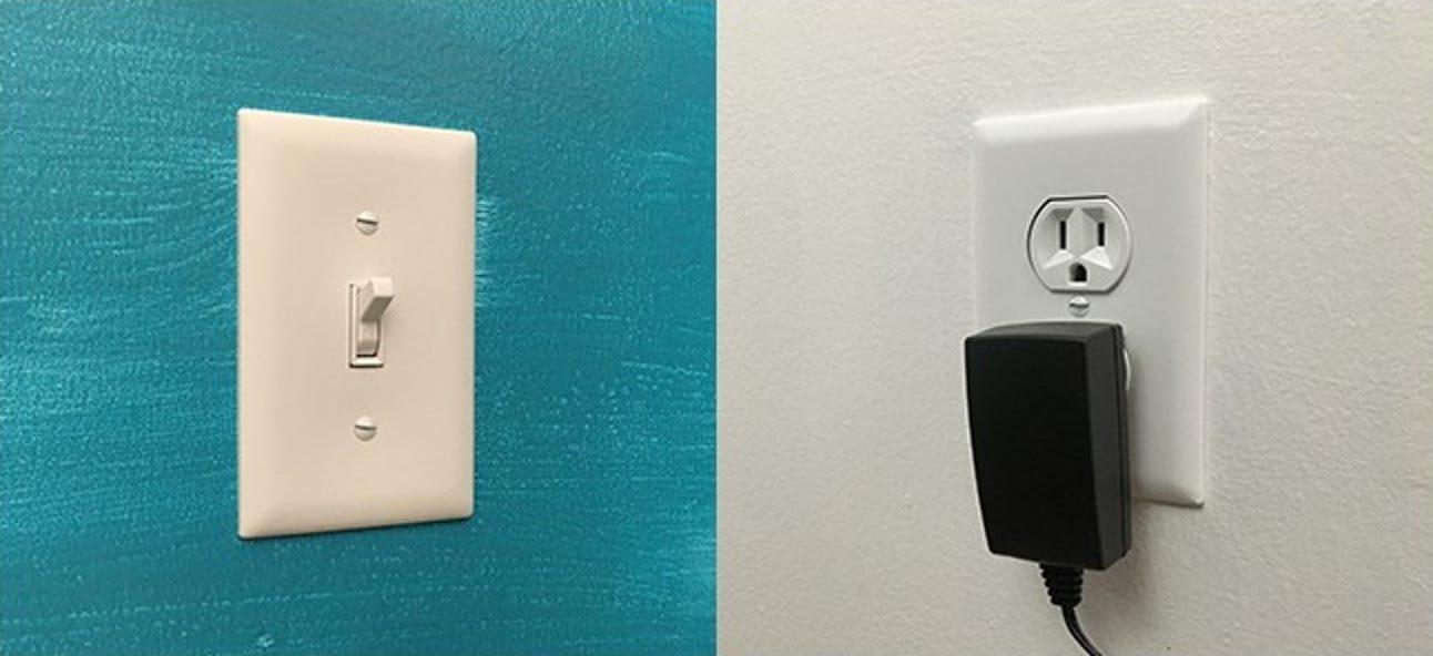 So ersetzen Sie eine Steckdose, die von einem Lichtschalter gesteuert wird