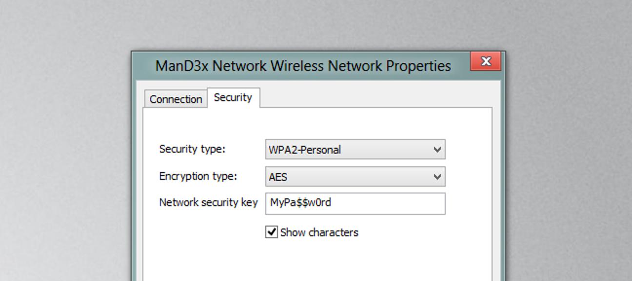 So zeigen Sie das vergessene Kennwort für das drahtlose Netzwerk in Windows an