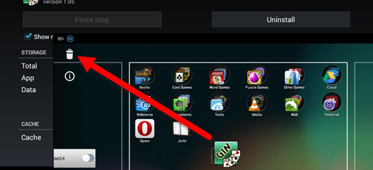 So deinstallieren Sie eine App auf einem Android-Gerät