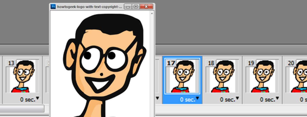 So animieren Sie Ihr eigenes benutzerdefiniertes GIF mit Photoshop