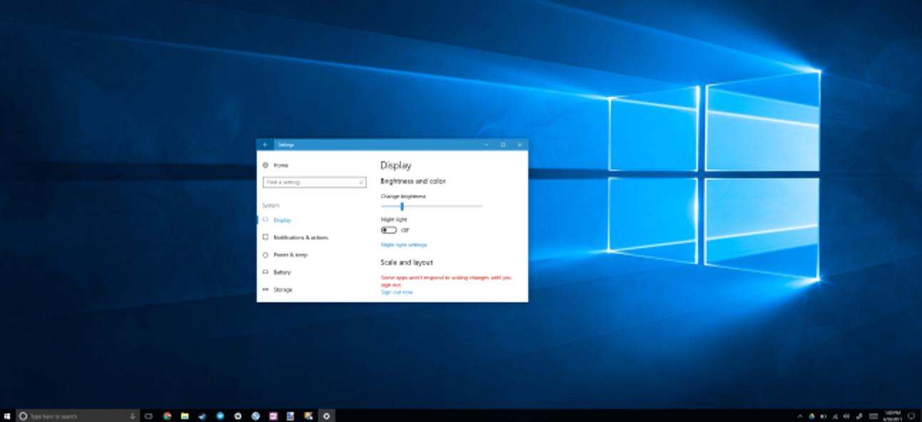So verbessern Sie die Funktionsweise von Windows auf hochauflösenden Displays und korrigieren verschwommene Schriftarten