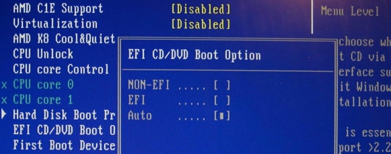 Wenn ich beim Start die entsprechende Taste drücke, betrete ich dann das BIOS oder CMOS?