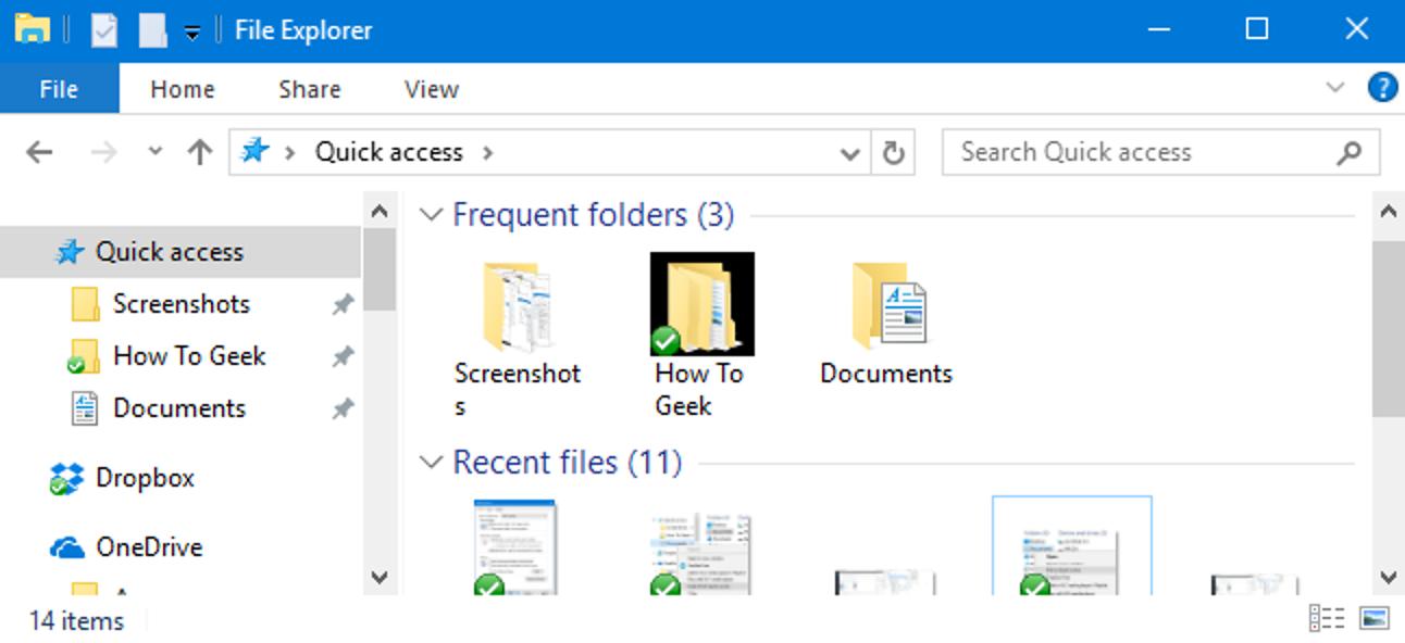 So deaktivieren Sie den Schnellzugriff im Datei-Explorer unter Windows 10