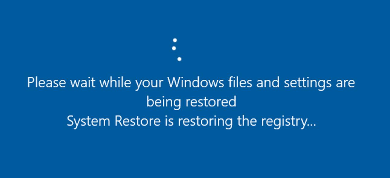 Verwendung der Systemwiederherstellung in Windows 7, 8 und 10