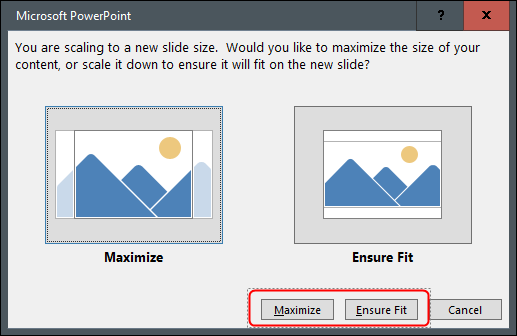 """Klicken """"Maximieren"""" oder """"Stellen Sie sicher, dass Sie fit sind."""""""