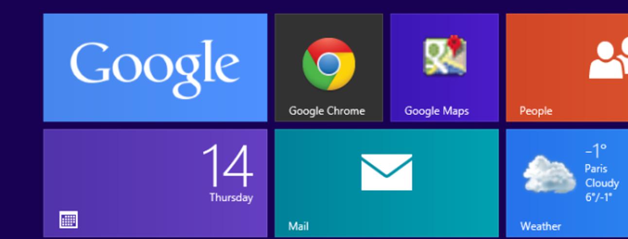 So integrieren Sie Google Apps in Windows 8