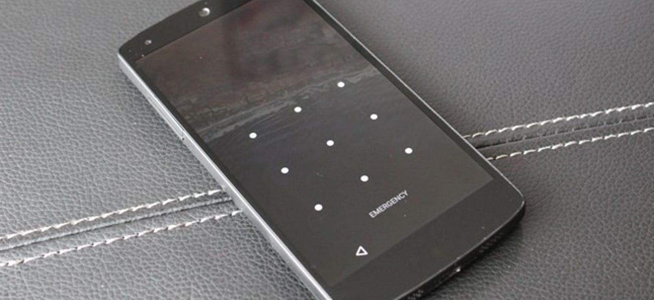 So sichern Sie Ihr Android-Telefon mit einer PIN, einem Passwort oder einem Muster