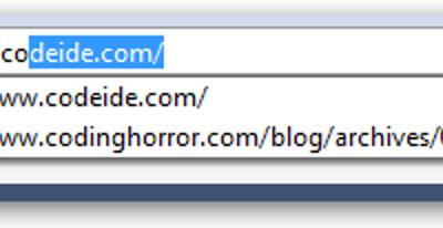 Stellen Sie sicher, dass Firefox nur manuell eingegebene URLs automatisch vervollständigt