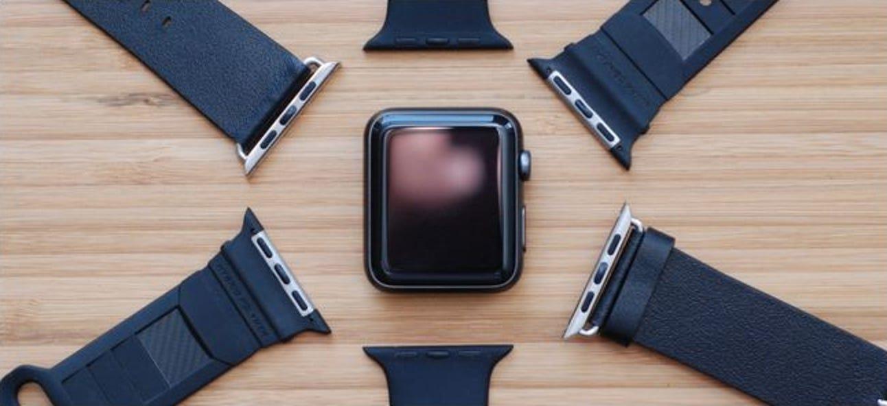 So ändern Sie Ihr Apple Watch-Band (ohne eine Tonne auszugeben)
