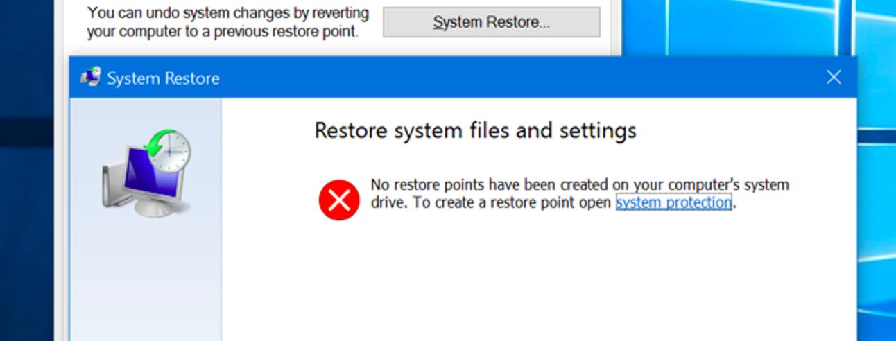 So aktivieren Sie die Systemwiederherstellung (und reparieren Systemprobleme) unter Windows 10)