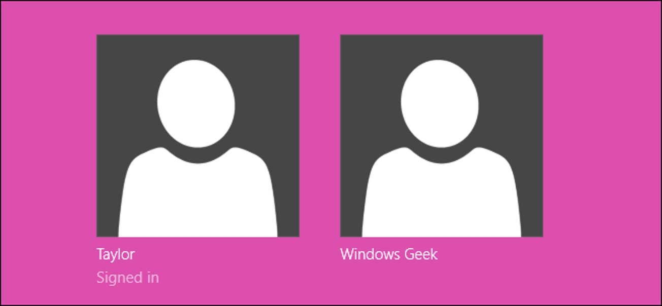 So ändern Sie die Farbe des Anmeldebildschirms in Windows 8