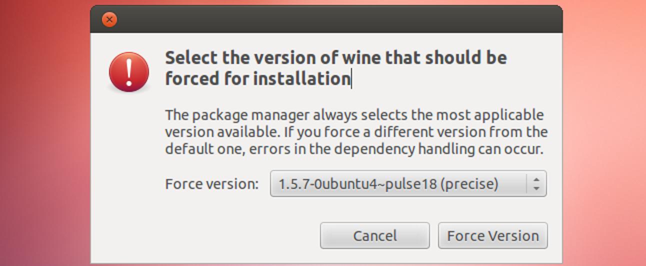 So downgraden Sie Pakete auf Ubuntu