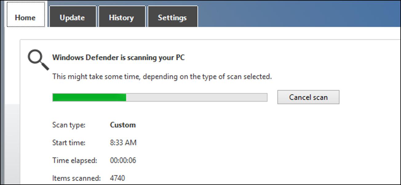 So scannen Sie jede Datei oder jeden Ordner mit dem integrierten Anti-Virus von Windows 8