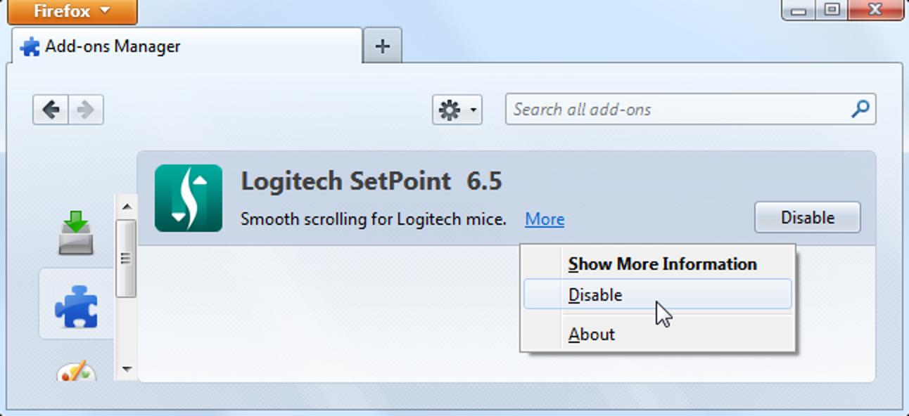 So deinstallieren Sie eine global installierte Firefox-Erweiterung manuell