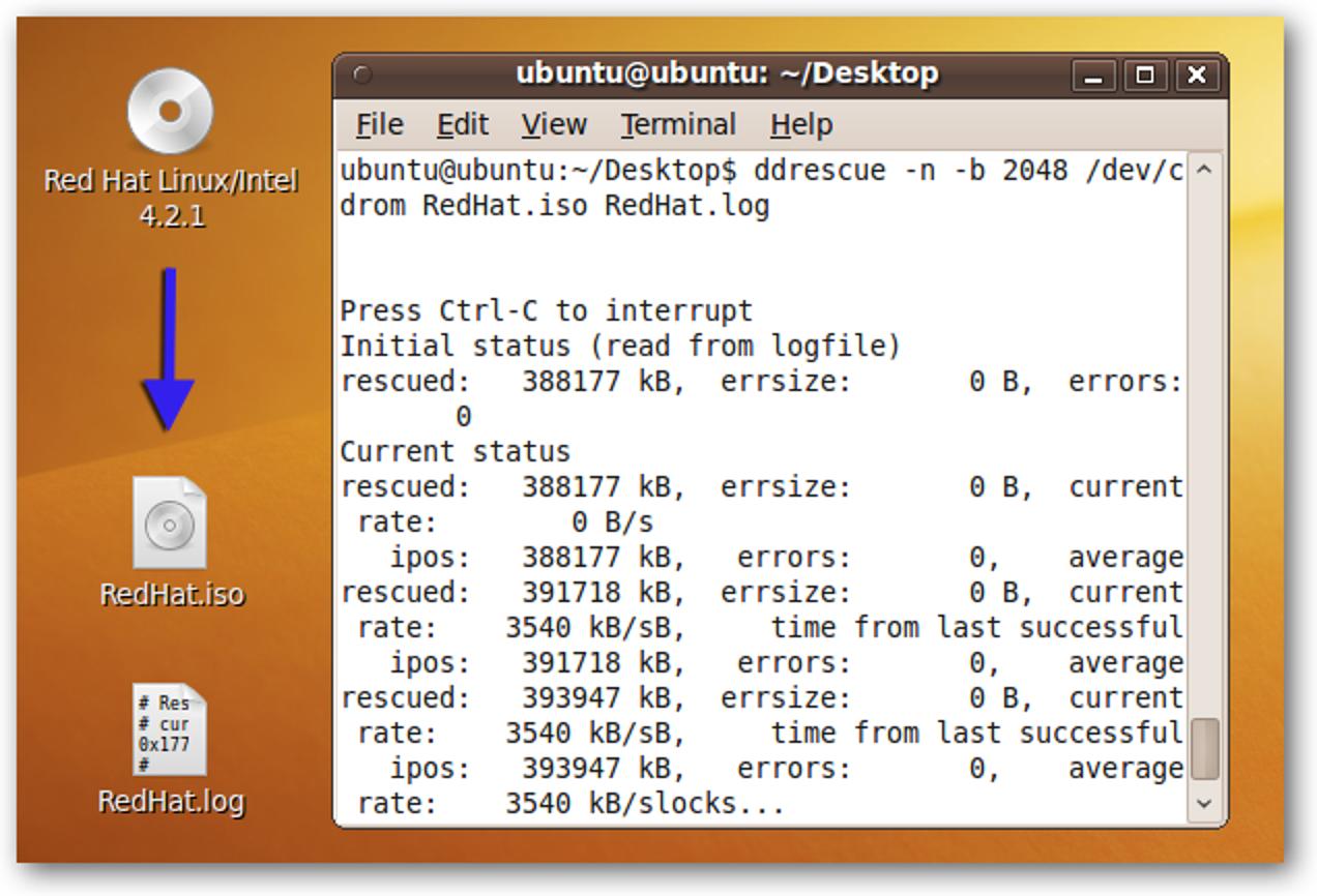 Retten Sie alte, beschädigte CDs mit einer Ubuntu Live-CD