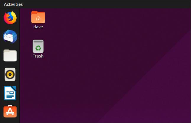 GNOME 3.32-Anwendungsleiste unter Ubuntu 19.04