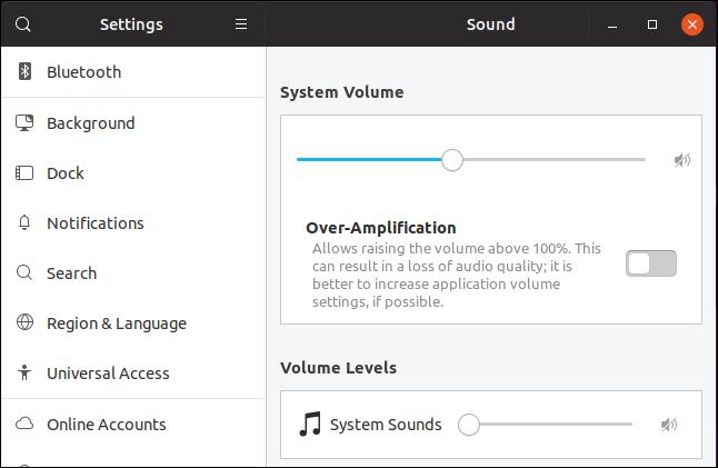 Soundeinstellungen unter Ubuntu 19.04 Disco Dingo