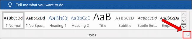 """Klicken Sie auf die zusätzliche Menüschaltfläche Stile im Abschnitt Home > Stile"""" width=""""650″ height=""""134″ onload=""""pagespeed.lazyLoadImages.loadIfVisibleAndMaybeBeacon(this);"""" onerror=""""this.onerror=null;pagespeed.lazyLoadImages.loadIfVisibleAndMaybeBeacon(this);""""/></p> <p>Klicken Sie dort auf die Schaltfläche """"Optionen"""".</p> <p><img class="""