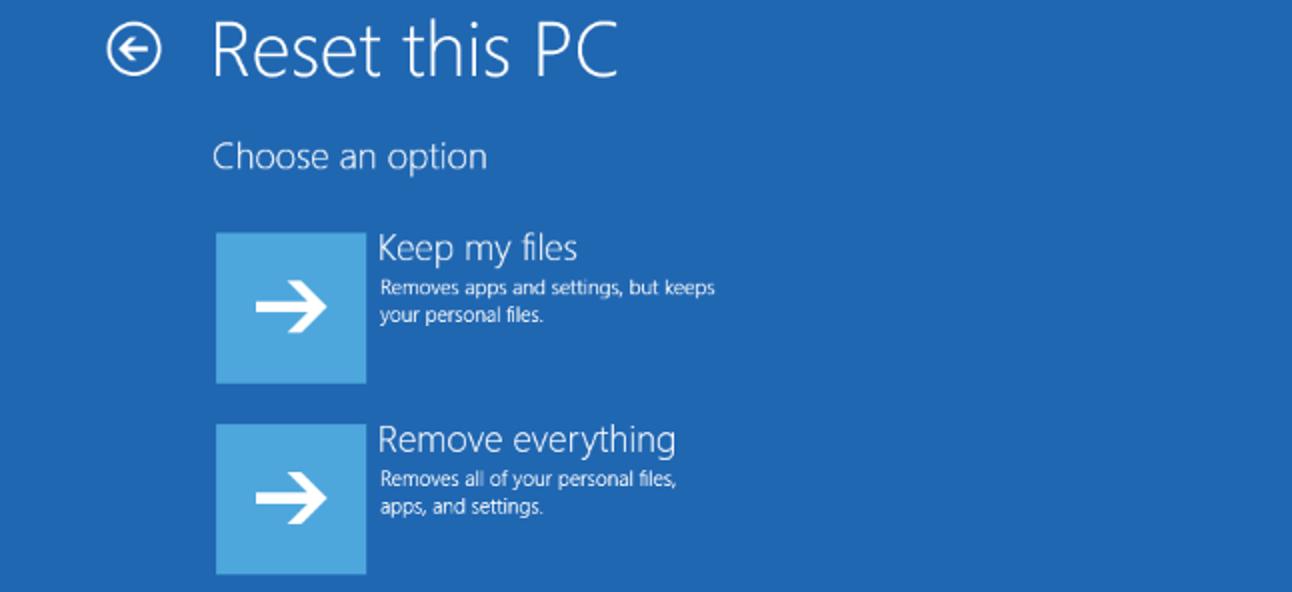 """Alles, was Sie über """"Diesen PC zurücksetzen"""" in Windows 8 und 10 wissen müssen"""