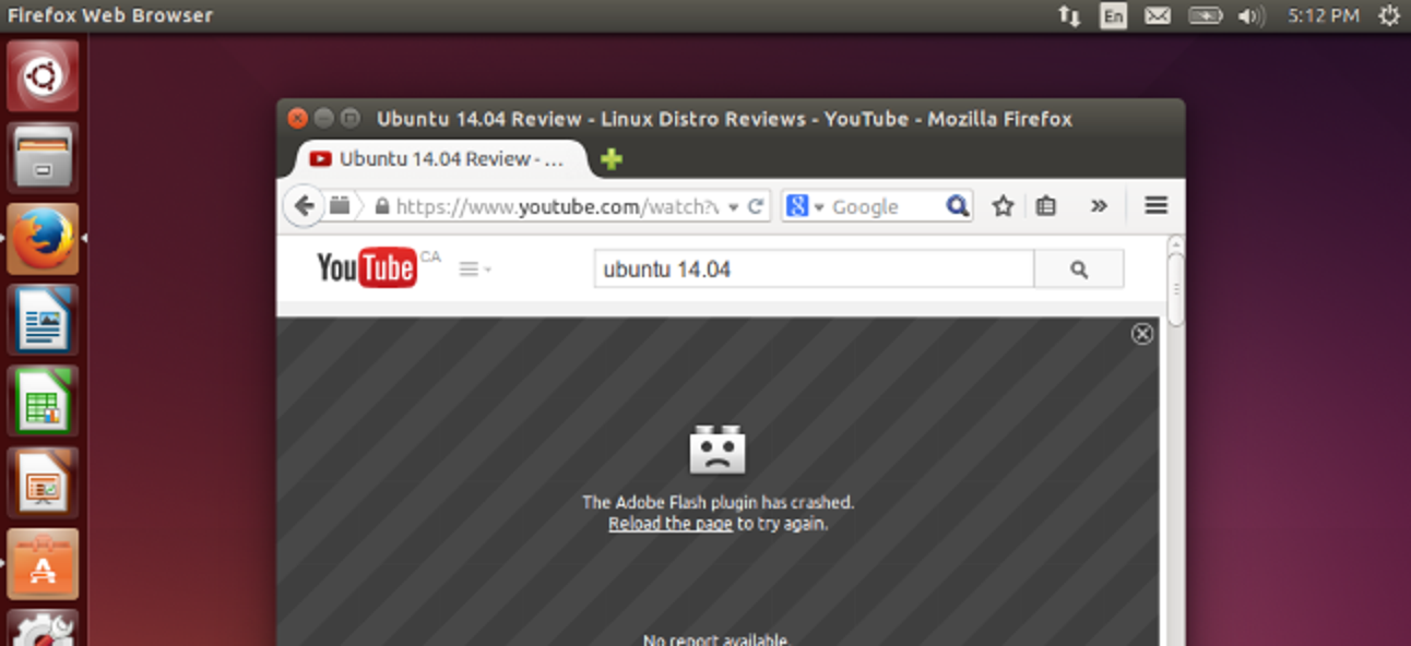 Verwenden Sie Firefox unter Linux?  Ihr Flash Player ist alt und veraltet!