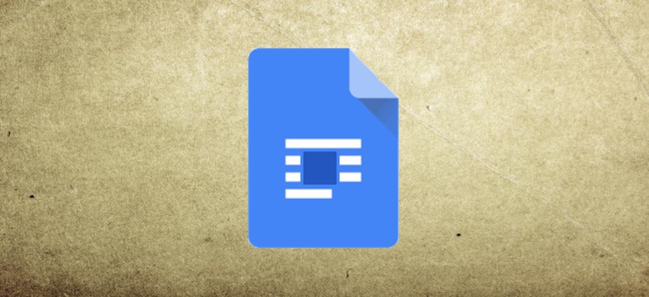 So umschließen Sie Bilder in Google Docs mit Text