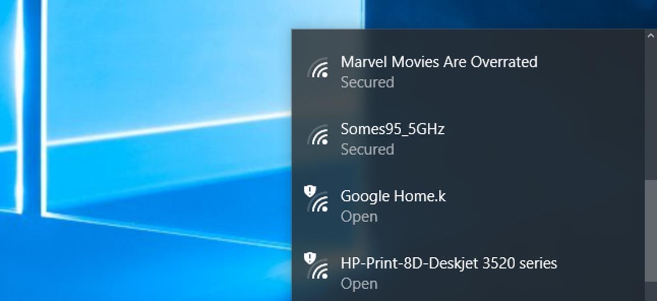 So blockieren Sie die Anzeige des Wi-Fi-Netzwerks Ihres Nachbarn unter Windows
