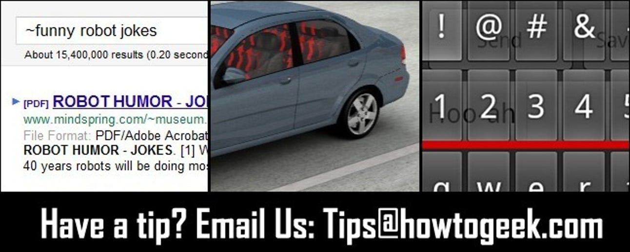 Kühlen Sie ein heißes Auto sofort ab, Google-Synonymsuche und erweiterte Android-Tastaturen