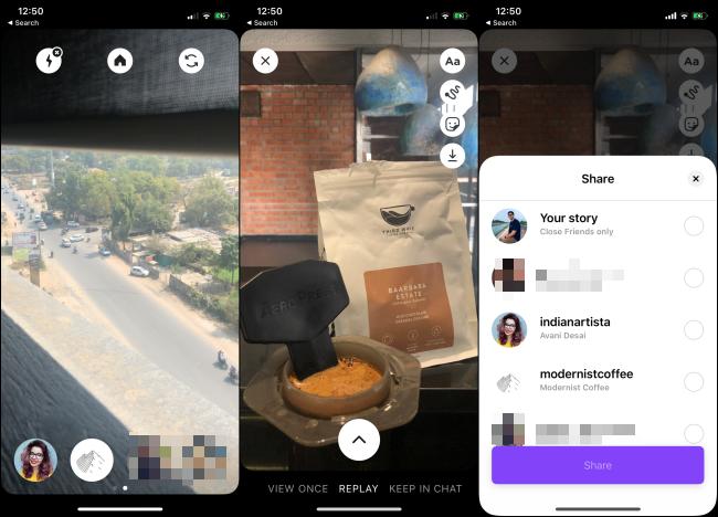 Die Instagram Threads-App auf einem Smartphone.