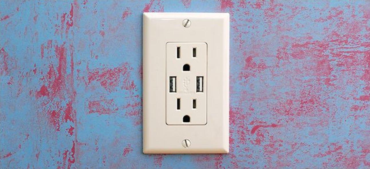 So aktualisieren Sie Ihre Steckdosen für das Aufladen über USB