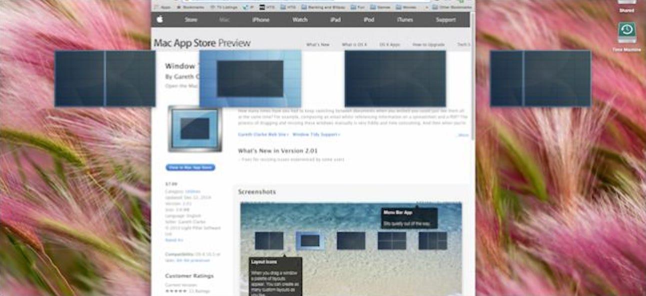 So erhalten Sie Windows Style Window Snaping unter OS X jetzt