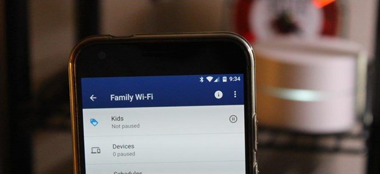 So erstellen und verwenden Sie Familienlabels in Google Wifi