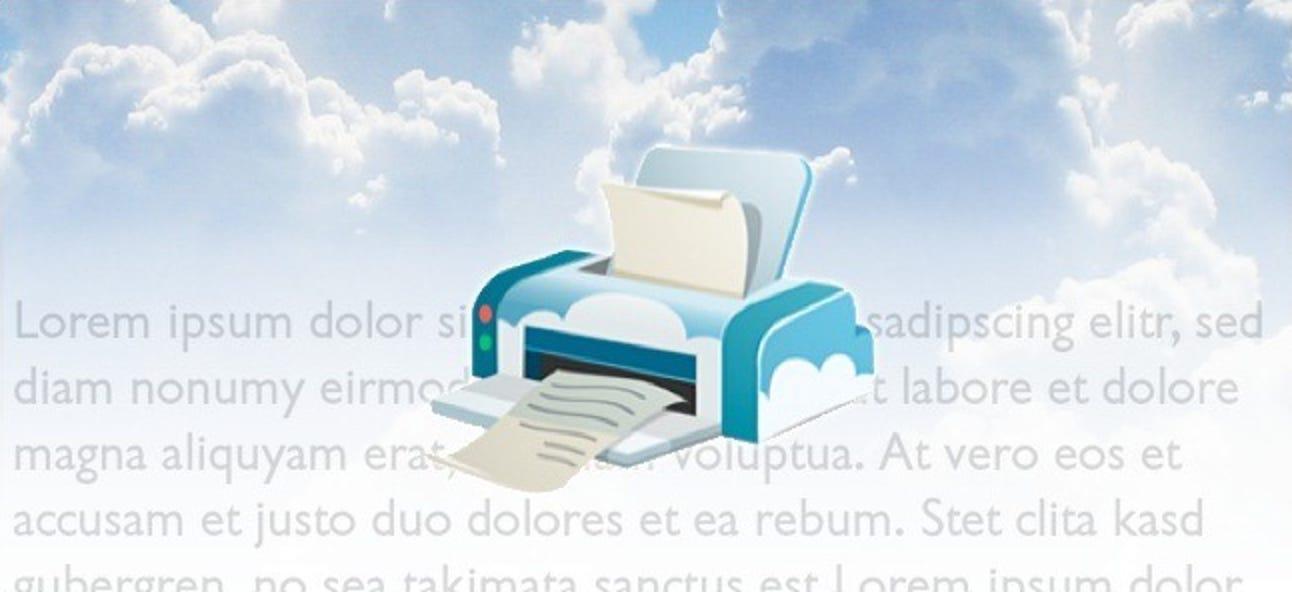 Wie (und warum) Sie mit Google Cloud Print beginnen