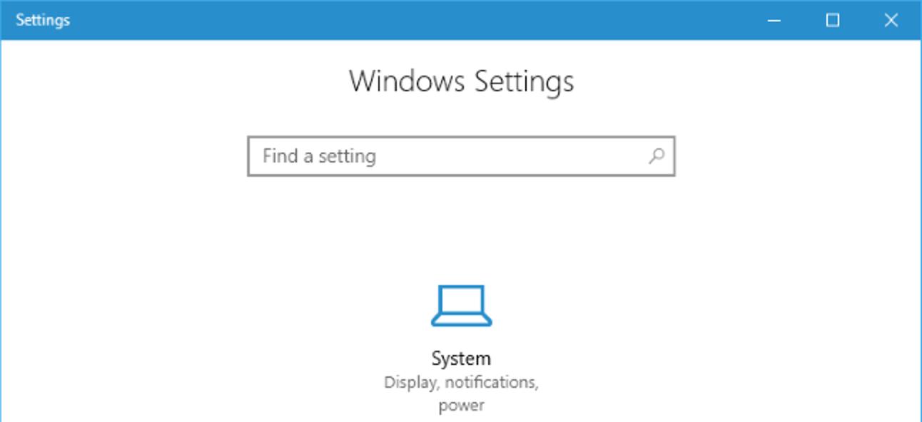 So verbergen Sie Seiten in der Einstellungs-App von Windows 10 10