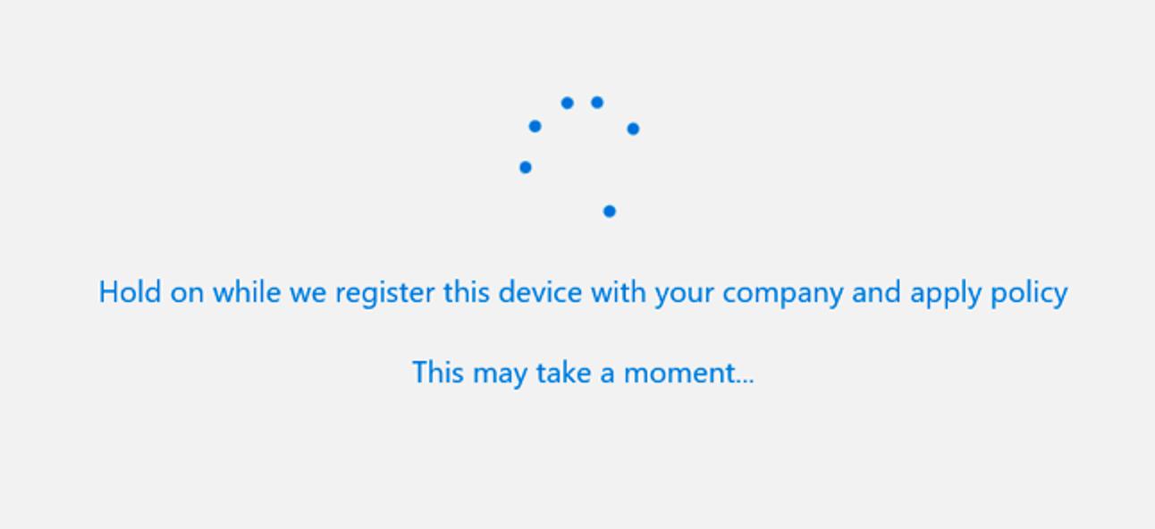 So fügen Sie Windows mit Arbeitszugriff ein Geschäfts- oder Schulkonto hinzu
