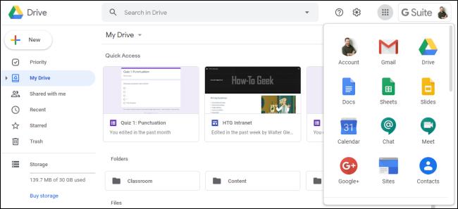 Google Drive-Schnittstelle