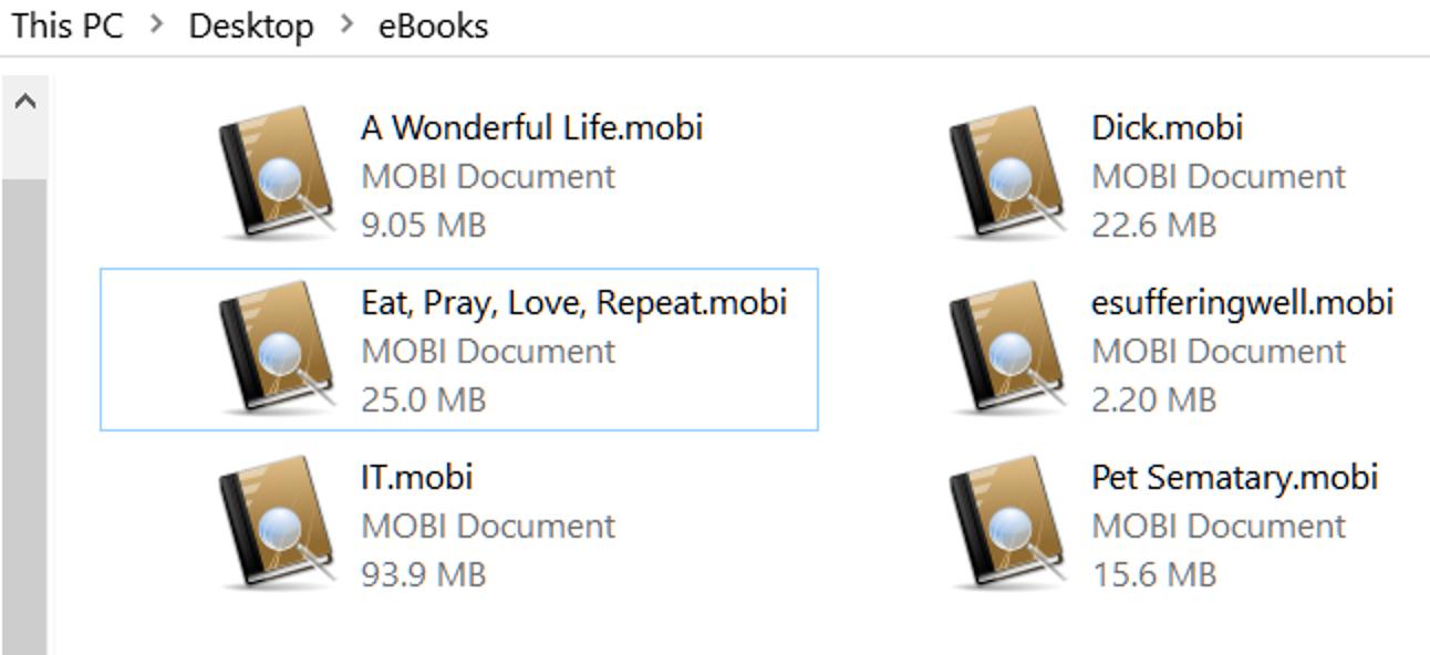 Was ist eine MOBI-Datei (und wie öffne ich eine)?