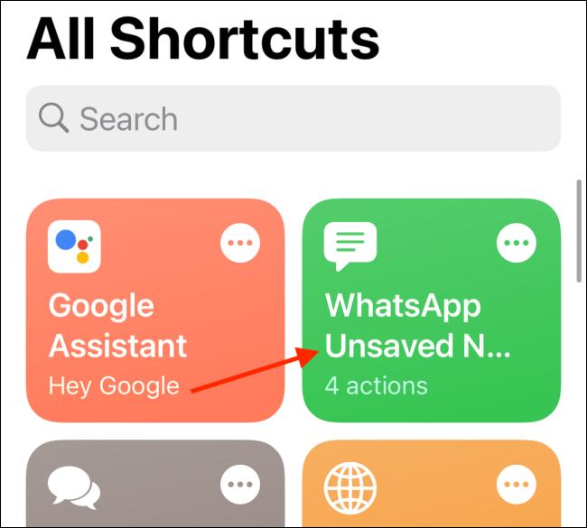 Tippen Sie auf WhatsApp nicht gespeicherte Nummernverknüpfung