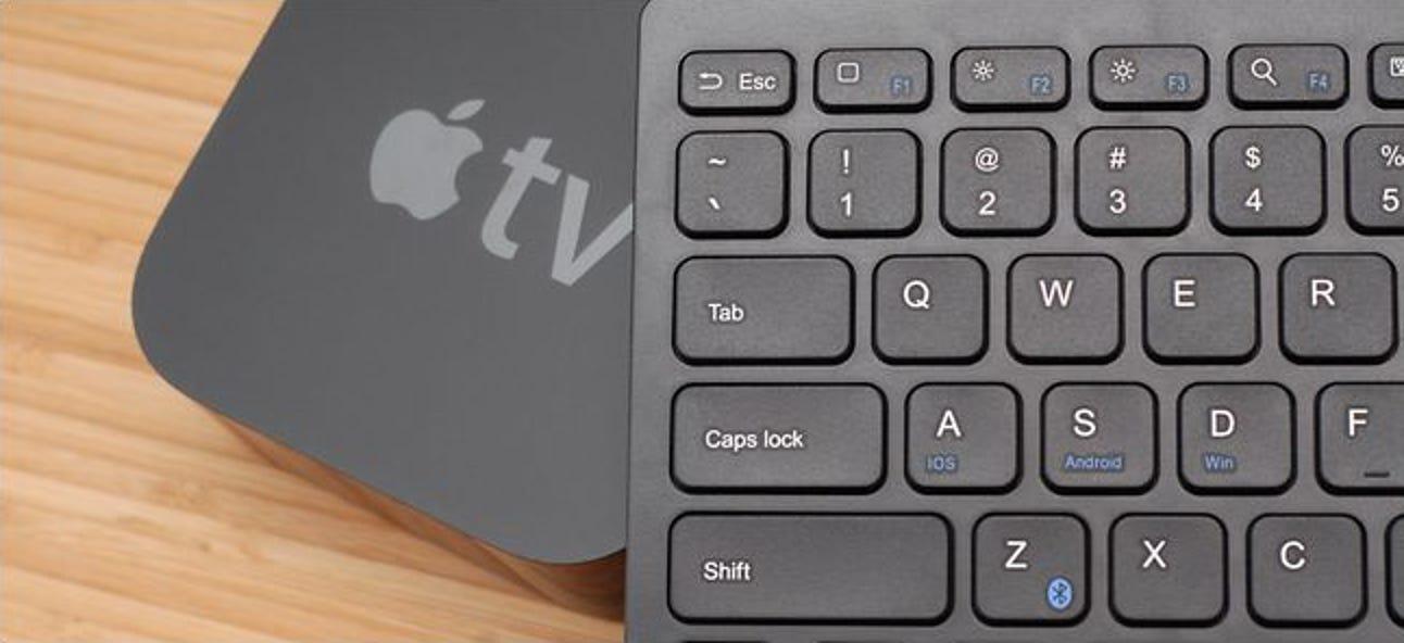So verwenden Sie eine Bluetooth-Tastatur mit Ihrem Apple TV