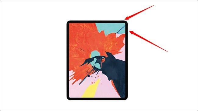 Apple iPad Pro 2018 Power- und Lautstärketasten Neu