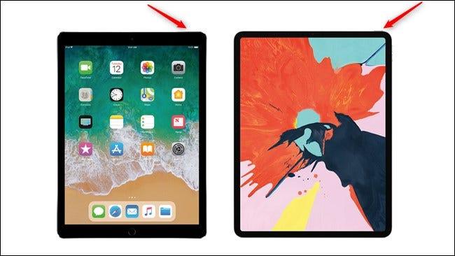 Apple iPad Pro Generationen Ein-/Ausschalter