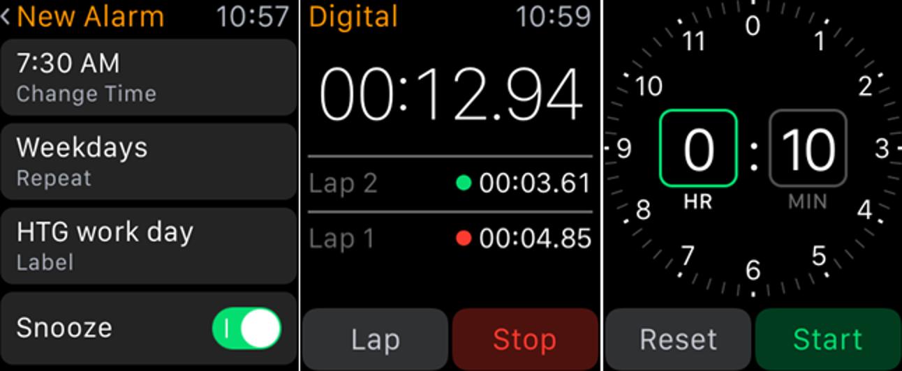 So stellen Sie Alarme und Timer auf der Apple Watch ein