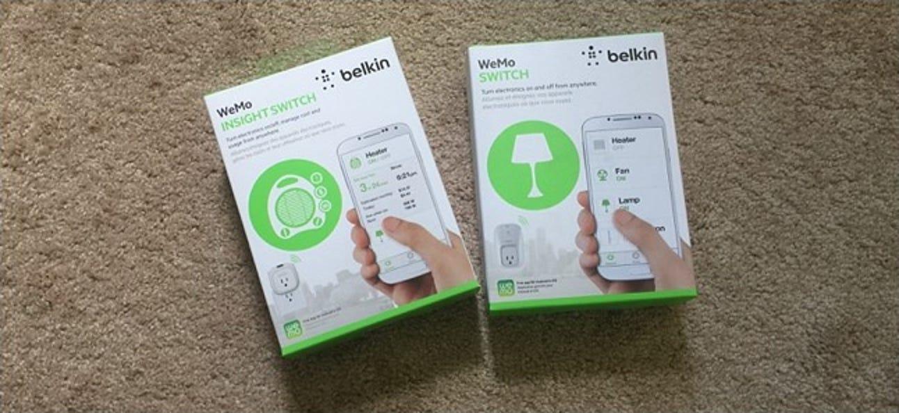 Der Unterschied zwischen dem WeMo Switch von Belkin und dem WeMo Insight Switch
