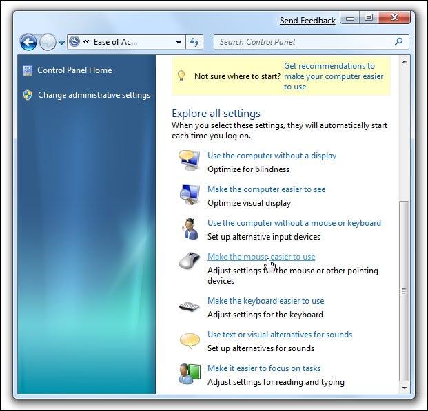 Einfacher Zugriff auf Windows 7