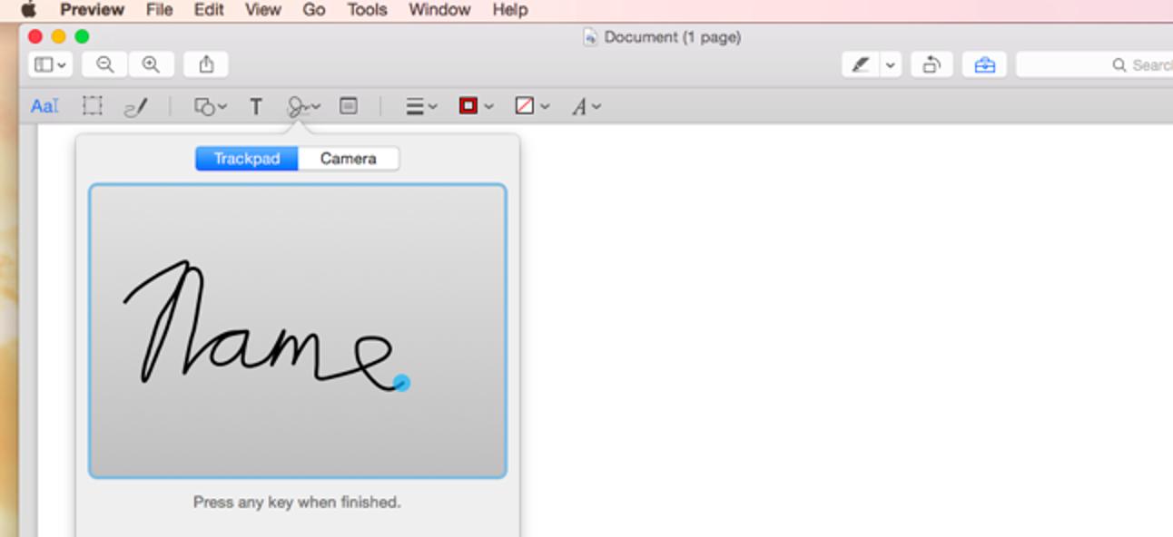 Verwenden Sie die Vorschau-App Ihres Macs, um PDFs zusammenzuführen, zu teilen, zu markieren und zu signieren